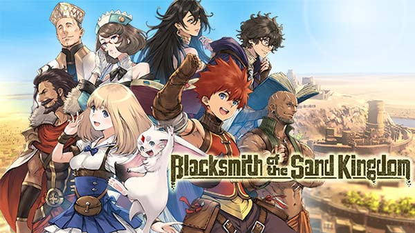 RPG Blacksmith of the Sand Kingdom pre-order starts today!