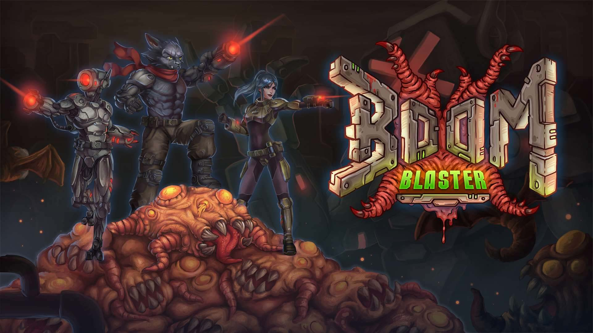 Boom Blaster is now available to pre-order digtally on Xbox One And Xbox Series X|S