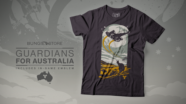 Bungie's Guardians for Australia fundraising campaign is now Live