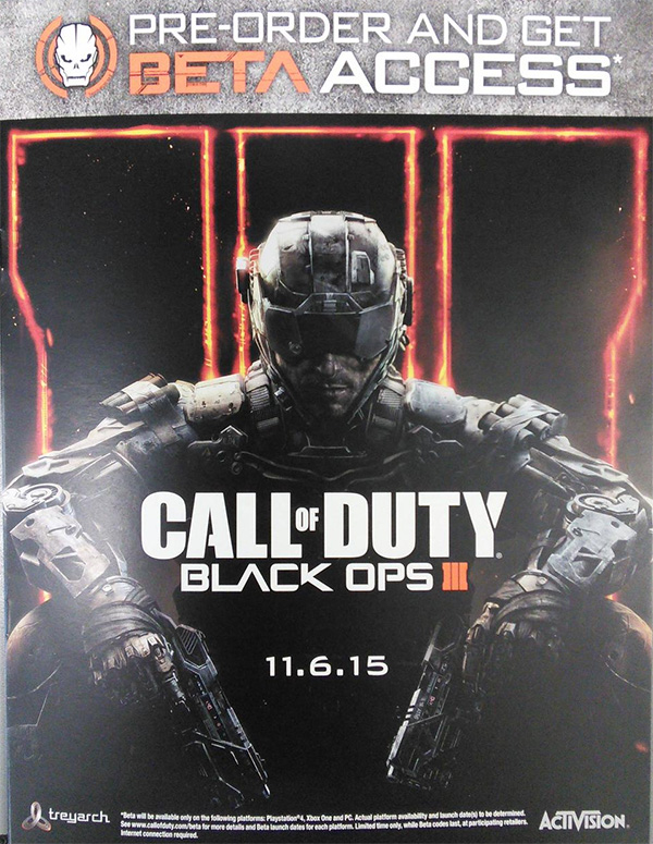 Call of Duty Black Ops III Leaked Poster