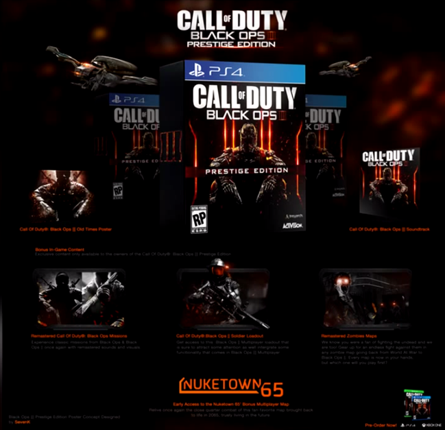 Call of Duty Black Ops 3 Presige Edition PS4