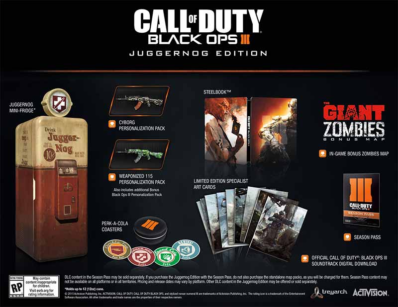 Call of Duty Black Ops 3 Juggernog Edition
