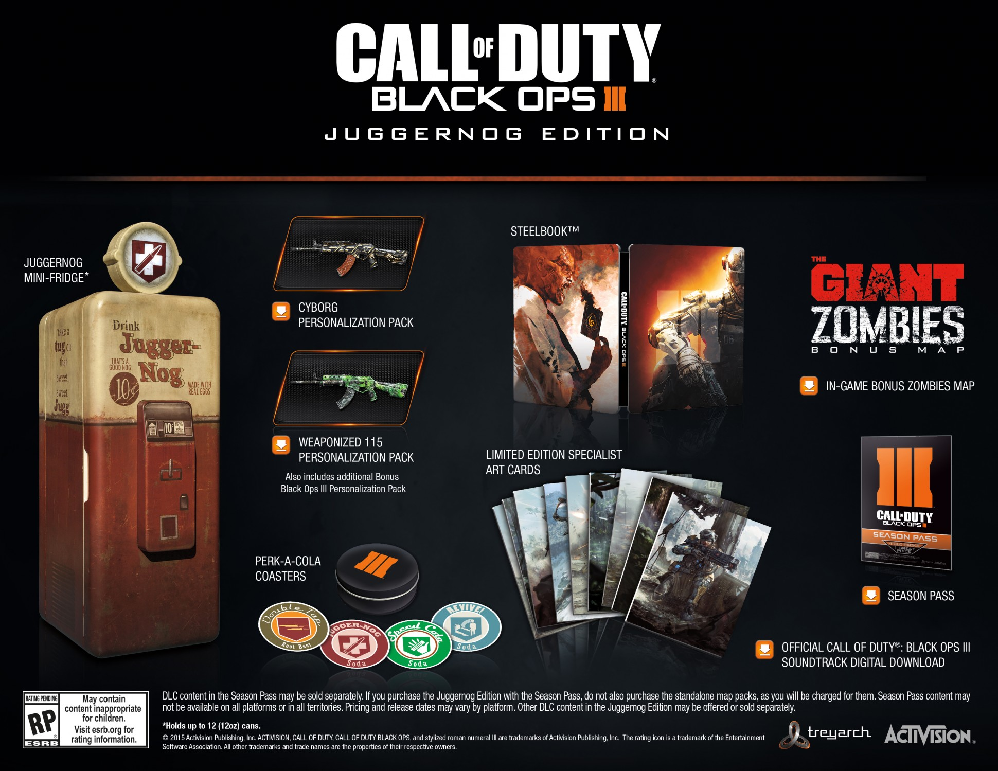 Call Of Duty Black Ops 3 Juggernog Edition Includes A Working Mini Fridge Xboxone Hq Com