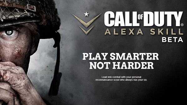 Call of Duty Alexa Skill Launches for Call of Duty: WWII