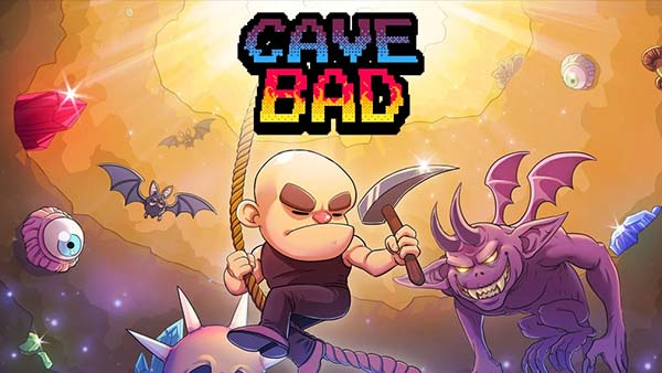 "8-bit pixelated roguelike adventure game ""Cave Bad"" is available now on Xbox One and Xbox Series X/S"