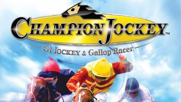 Champion Jockey Horse Racing