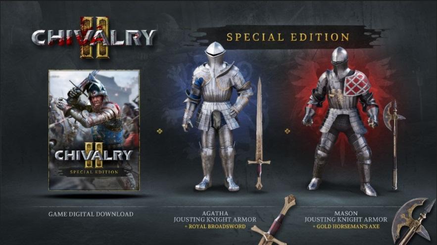 Chivalry 2 Special Edition preorder