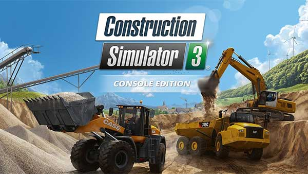 Construction Simulator 3 Console Edition launches for Xbox One, PlayStation 4 and Nintendo Switch