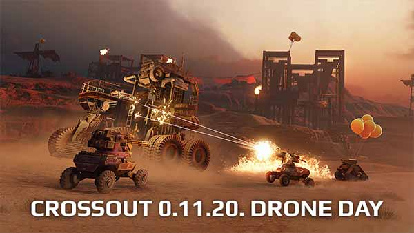 """Crossout's """"Drone Day"""" content update adds New Mode and Premium Vehicle"""