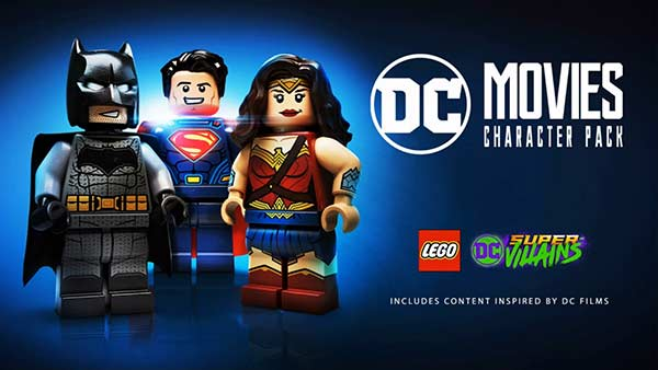 LEGO DC Super-Villains DC Movie Character Pack