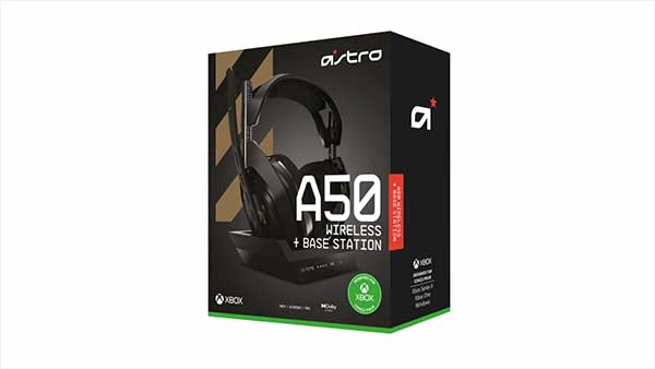 Astro A50 Wireless Headset + Base Station (Designed For Xbox)