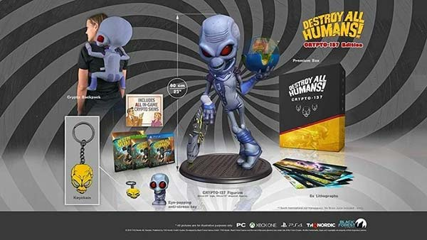 Destroy All Humans!: Crypto-137 and DNA Collector's editions now available for pre-order.
