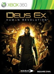 Deus Ex Human Revolution Xbox 360 Boxart