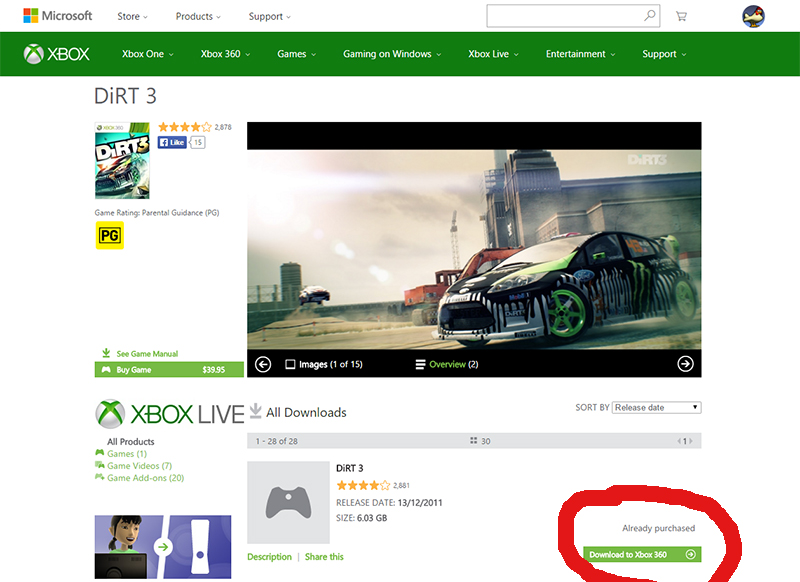 How to Download Xbox 360 games to Xbox One without an Xbox 360