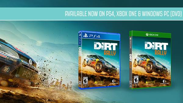 codemasters dirt rally races onto xbox one and playstation. Black Bedroom Furniture Sets. Home Design Ideas