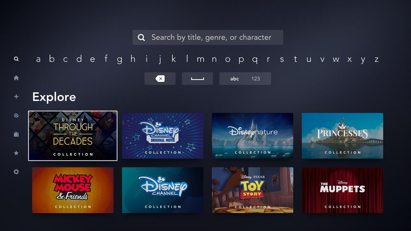 Disney+ App for Xbox