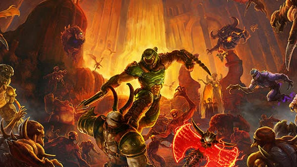 DOOM Eternal's free Next-Gen update is available now on Xbox Series X|S, PS5 and PC!