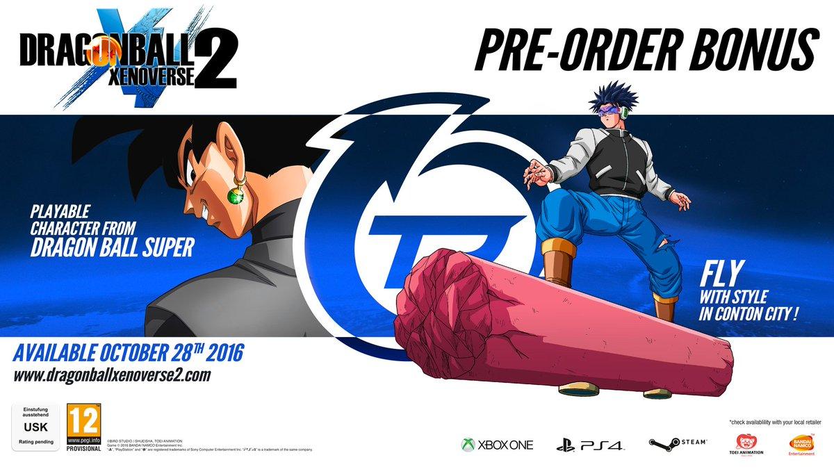 Dragon Ball Xenoverse 2 Pre-order Bonus