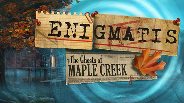 Enigmatis: The Ghosts of Maple Creek Out Now for Xbox One