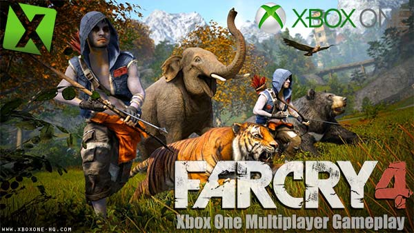 Exclusive Far Cry 4 Xbox One Multiplayer Outpost Gameplay