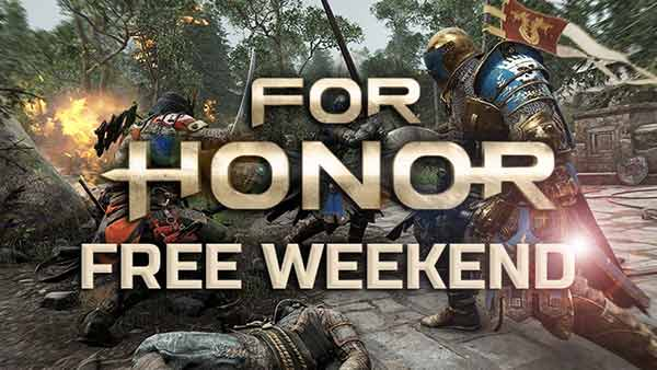 For Honor Will Be Free To Play On Xbox One, PS4 And PC Next Weekend