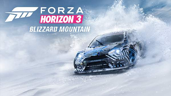 Forza Horizon 3 Blizzard Mountain DLC