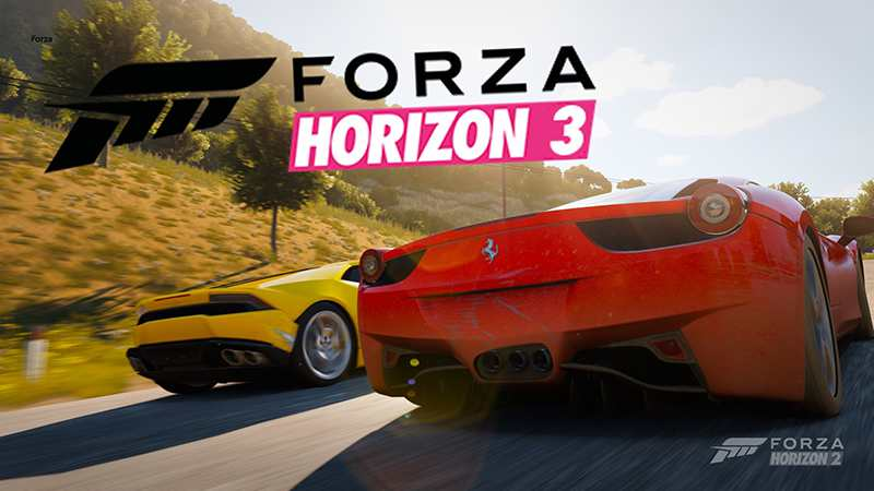 Forza Horizon 3 Out Now!