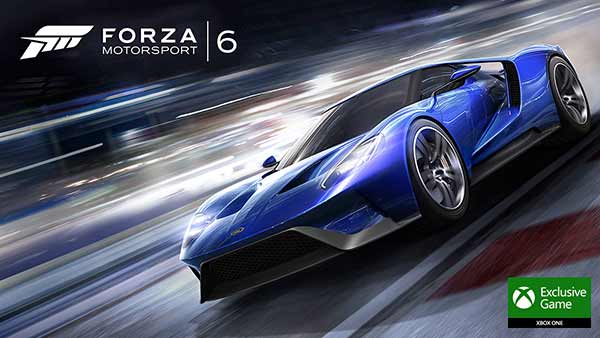 Forza Motorsport 6 Xbox One Exclusive