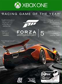 Forza Motorsport 5 Racing Game Of The Year Edition Normally 3999 ERP For Free During Month September
