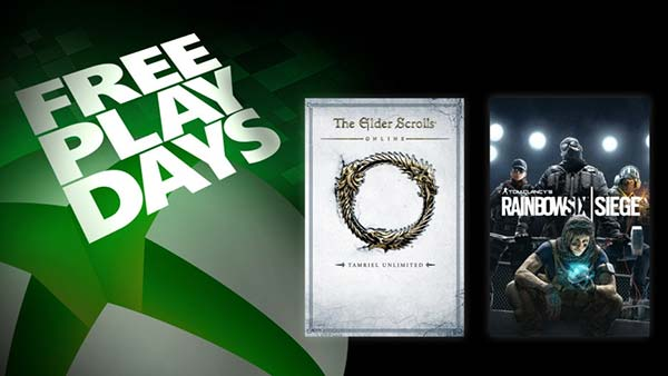 Free Play Days: The Elder Scrolls Online & Rainbow Six Siege Are Free To Play This Week on XBOX