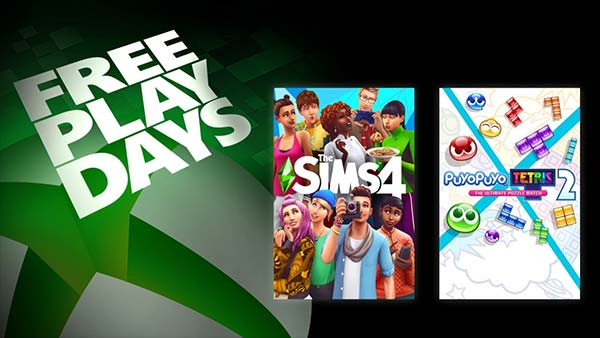 Free Play Days: The Sims 4 and Puyo Puyo Tetris 2 This Week (February 4-7)