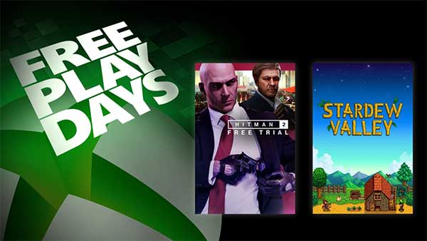 Free Play Days: Play Hitman 2 and Stardew Valley This Week on Xbox