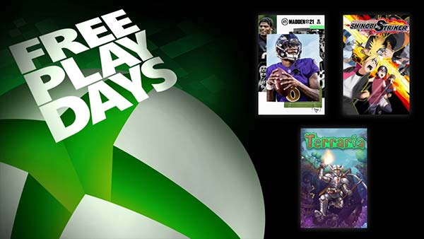Free Play Days Delivers Madden NFL 21, Terraria, and Naruto to Boruto: Shinobi Striker (January 28-31)