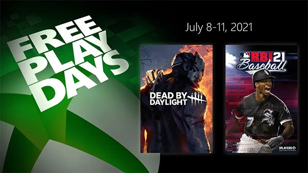Free Play Days: R.B.I. Baseball 21 and Dead by Daylight (July 8-11)