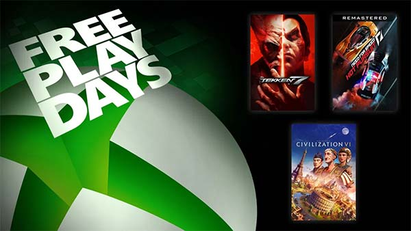 Tekken 7, NFS: Hot Pursuit Remastered, & Civilization VI Are Free To Play This Weekend!