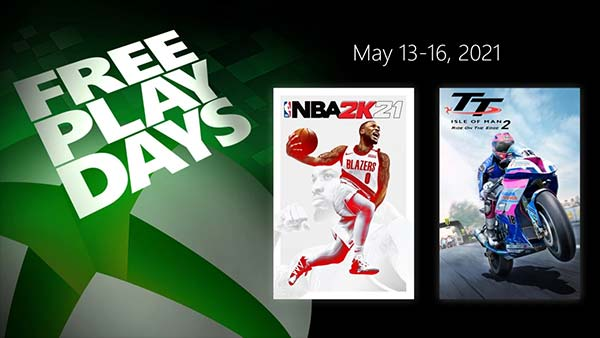 Free Play Days: Try These Xbox Games For Free (May 13-16)