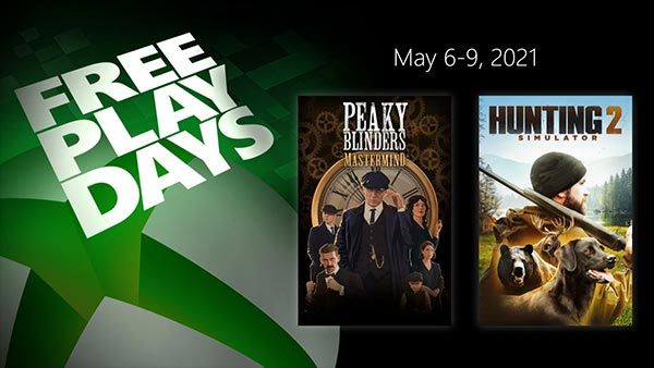 Xbox Free Play Days Adds Peaky Blinders: Mastermind and Hunting Simulator 2 (May 6-9)