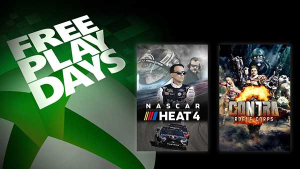 Free Play Days: Play NASCAR Heat 4 And Contra: Rogue Corps for Free on XBOX