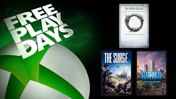 Free Play Days: Play Cities: Skylines And The Surge For Free on Xbox One This Week