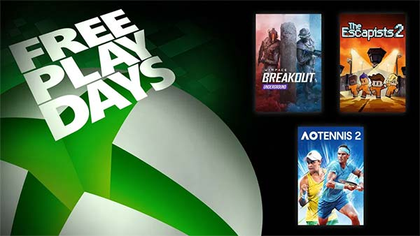 Free Play Days: Warface Breakout, The Escapists 2, and AO Tennis 2 (Oct 15-18)