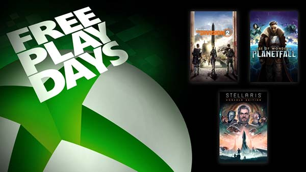 Free Play Days: Play The Division 2, Age Of Wonders: Planetfall, And Stellaris For Free This Week On XBOX