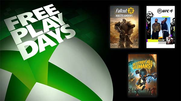 Free Play Days Delivers Fallout 76, UFC 4, and Destroy All Humans! (Oct 22-25)
