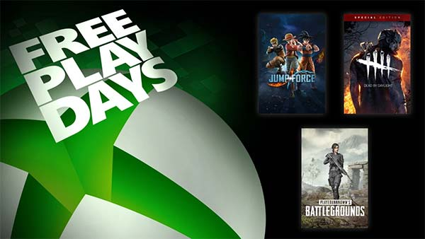 Free Play Days: Jump Force, Dead by Daylight: Special Edition and PUBG (Oct 29 - Nov 1)