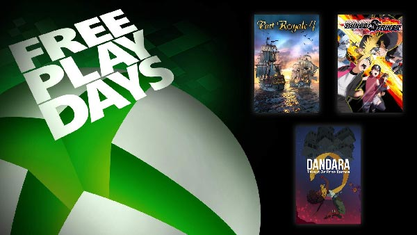Free Play Days: Port Royale 4, Naruto to Boruto: Shinobi Striker, and Dandara: Trials of Fear Edition (Oct 7-10)
