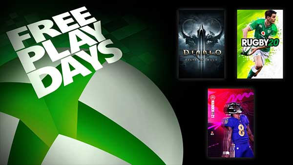 Free Play Days (September 10-13)
