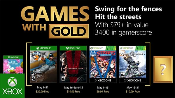 Games with Gold May (2018)