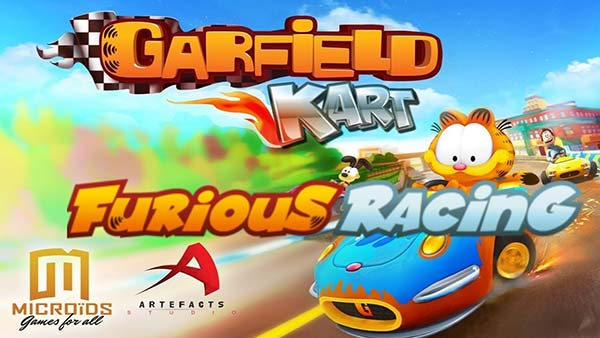 Garfield Kart Furious Racing is now available for XBOX ONE, PS4, Nintendo SWITCH and PC