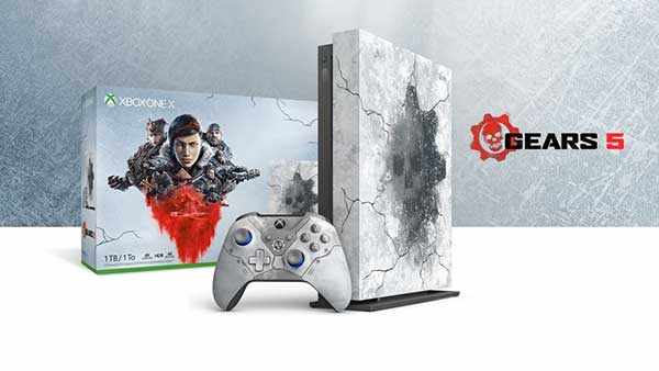Gears 5 Limited Edition Xbox One X Console & Accessories Are Now Available To Preorder