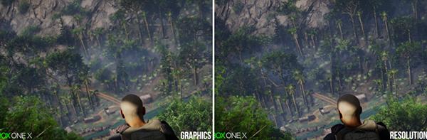 Xbox One X Comparison