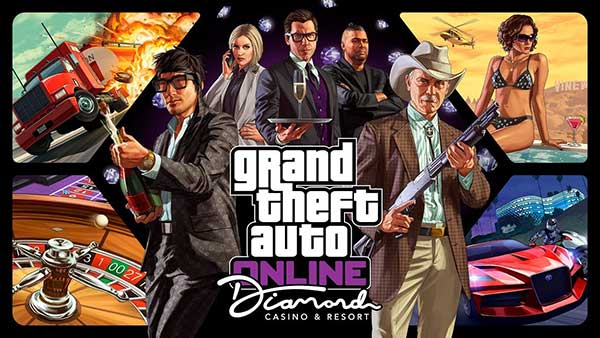 Grand Theft Auto Online Diamon Casino & Resort DLC
